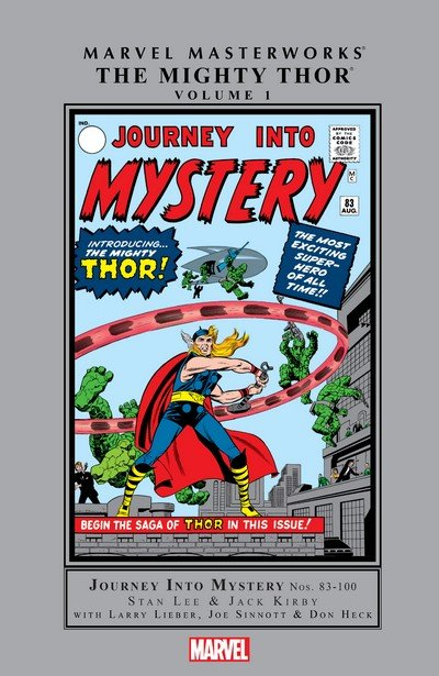 Marvel Masterworks – The Mighty Thor Vol. 1 – 17 (1994-2018)