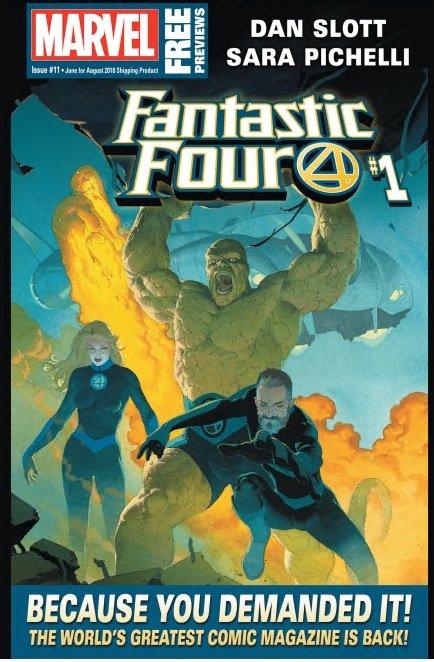Marvel Previews #11 (June 2018 for Aug 2018)