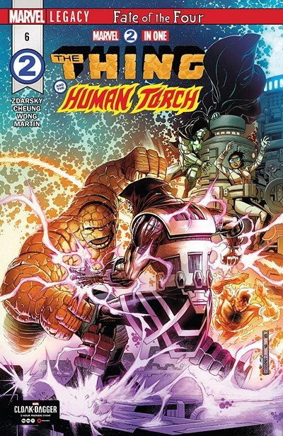 Marvel Two-In-One #6 (2018)