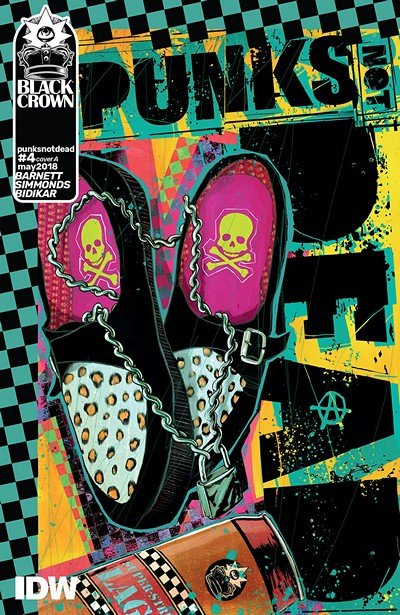 Punks Not Dead #4 (2018)