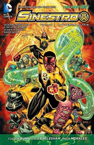 Sinestro (New 52 TPB) – Vol. 1 – 4 (2015-2016)