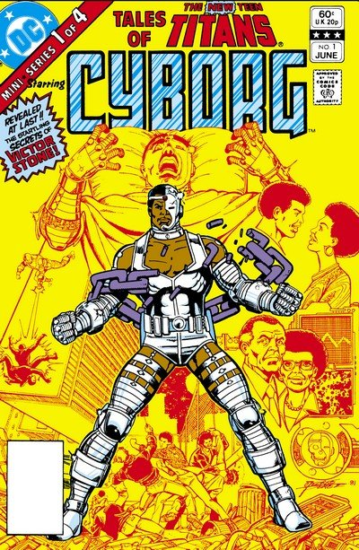 Tales of the New Teen Titans #1 – 4 (1982) (Digital)