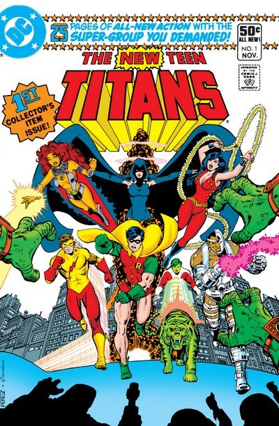 The New Teen Titans Vol. 1 #1 – 40 + Annual (1980-1984) (Digital)