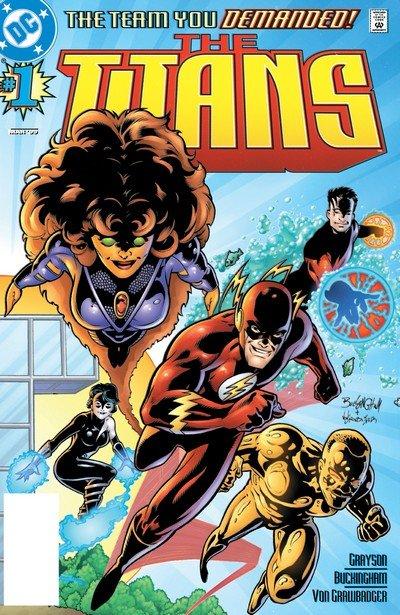 The Titans Vol. 1 #1 – 50 + Annual (1999-2003) (Digital)