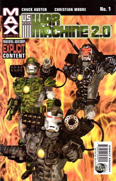 U.S. War Machine 2.0 #1 – 3 (2003)