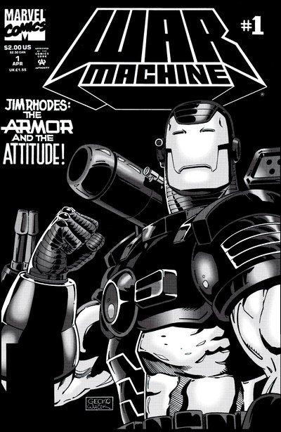 War Machine Vol. 1 #1 – 25 (1994-1996)