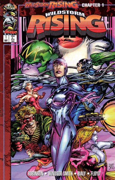 Wildstorm Rising #0 – 10 (Story Arc) (1995)