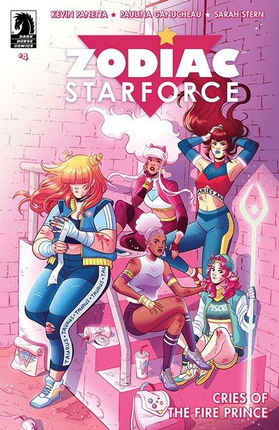 Zodiac Starforce – Cries Of The Fire Prince #4 (2018)