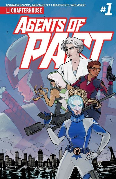 Agents of P.A.C.T. #1 – 4 (2017)