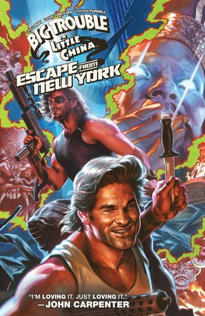Big Trouble in Little China – Escape from New York (TPB) (2017)