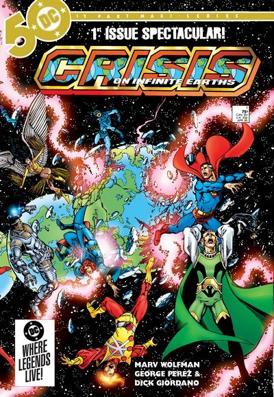 Crisis on Infinite Earths (Story Arc – Reading Order) (1985-1986)