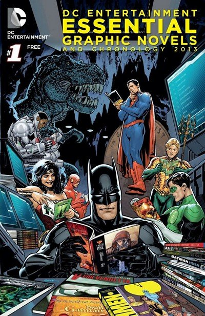 DC Essential Graphic Novels 2013-2018