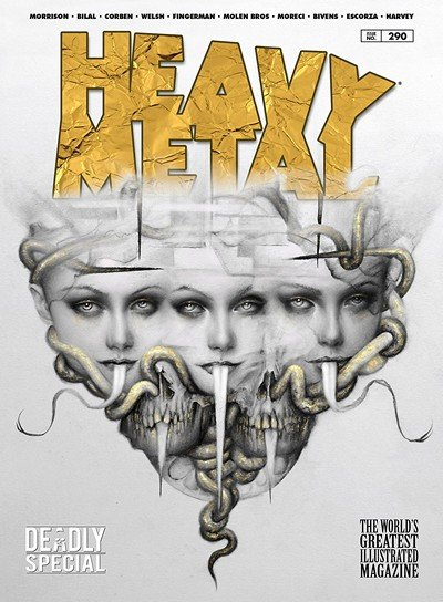 Heavy Metal #290 (2018)