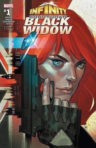 Infinity Countdown – Black Widow #1 (2018)