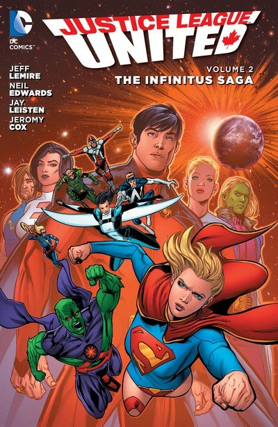 Justice League United Vol. 2 – The Infinitus Saga (TPB) (2015)