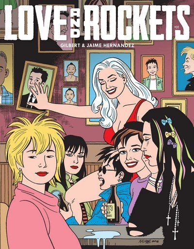 Love and Rockets (Collection) (2007-2018)