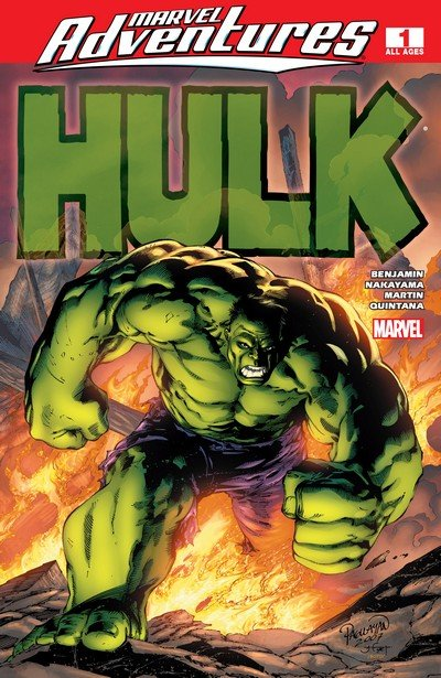 Marvel Adventures Hulk #1 – 16 (2007-2008)