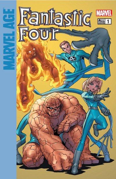 Marvel Age Fantastic Four #1 – 12 (2004-2005)