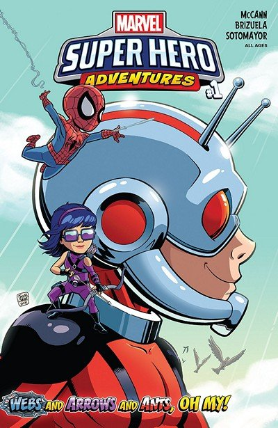 Marvel Super Hero Adventures – Webs and Arrows and Ants – Oh My! (2018)