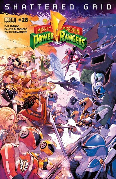 Mighty Morphin Power Rangers #28 (2018)