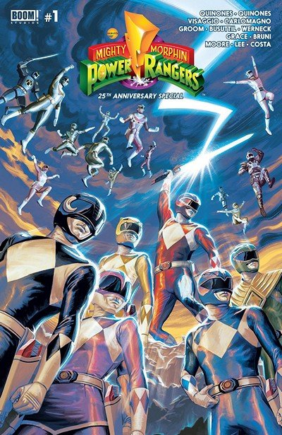 Mighty Morphin' Power Rangers 25th Anniversary Special #1 (2018)
