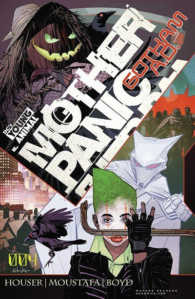 Mother Panic – Gotham A.D. #4 (2018)