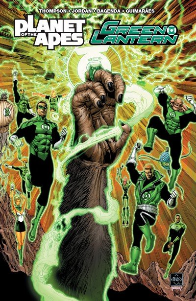 Planet of the Apes – Green Lantern (TPB) (2017)