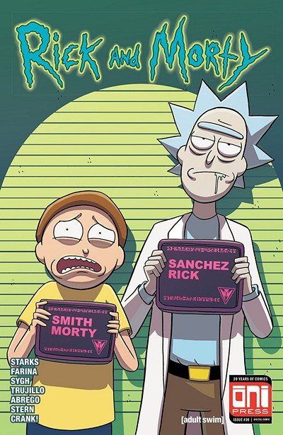 Rick And Morty #39 (2018)