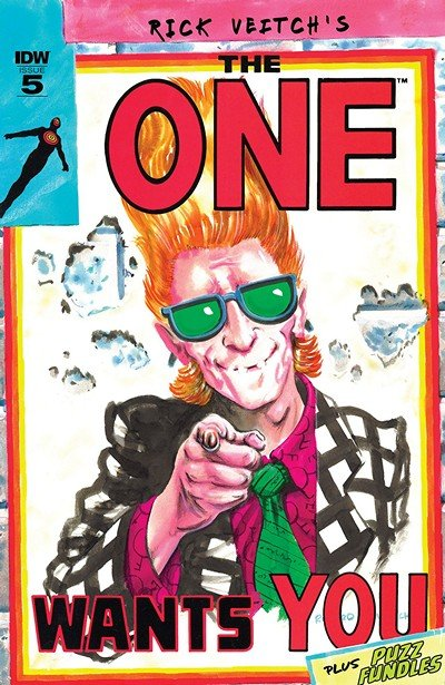 Rick Veitch's The One #5 (2018)