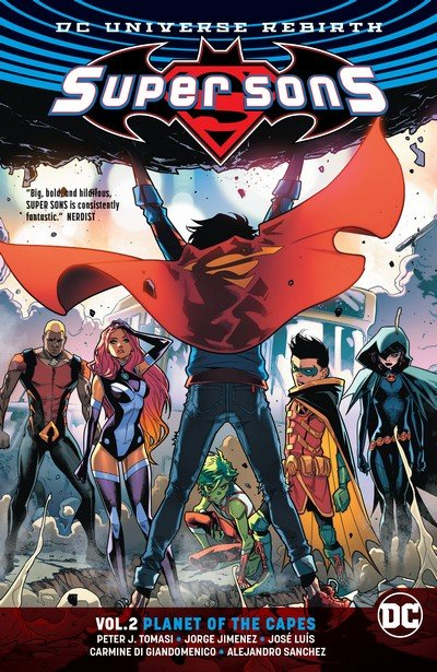 Super Sons Vol. 2 – Planet of the Capes (TPB) (2018)