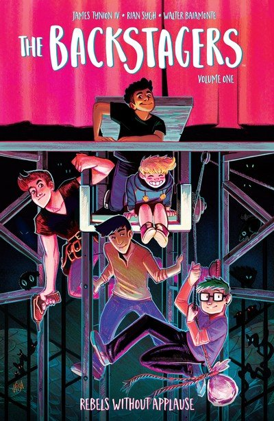 The Backstagers Vol. 1 – 3 (TPB) (2017-2019)