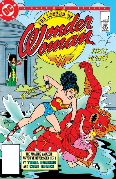The Legend of Wonder Woman #1 – 4 (1986)