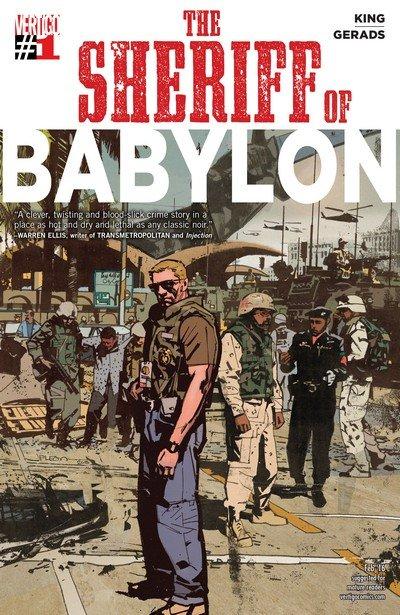 The Sheriff of Babylon #1 – 12 + TPB Vol. 1 – 2 (2016-2017)