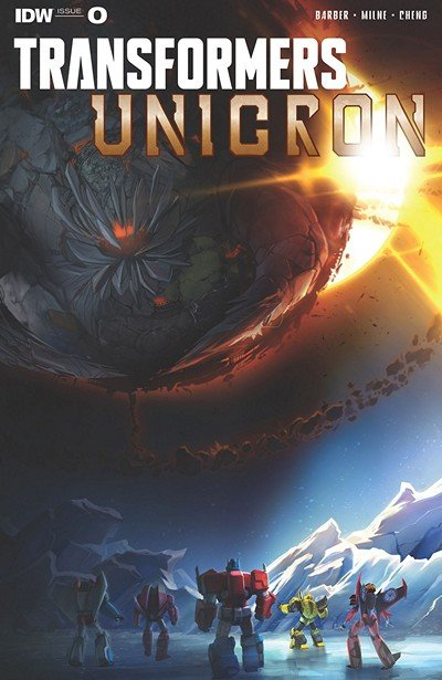 Transformers – Unicron #0 (2018)