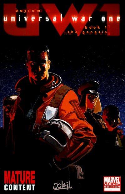 Universal War One #1 – 3 (2008)