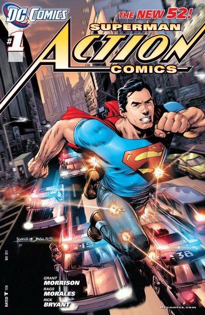Action Comics Vol. 2 (New 52) #0 – 52 + Annuals (2012-2016)