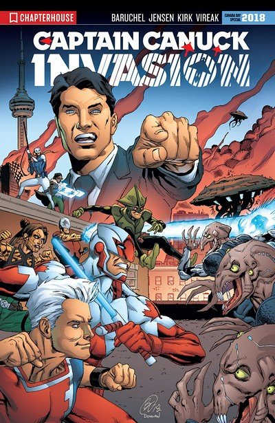Captain Canuck Invasion (Canada Day 2018)