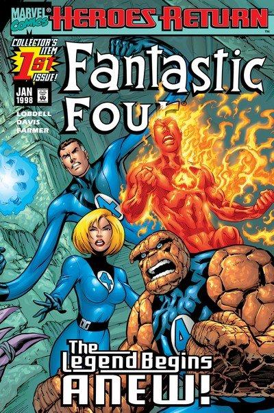 Fantastic Four Vol. 3 #1 – 70 + 500 – 611 + TPBs (1998-2012)