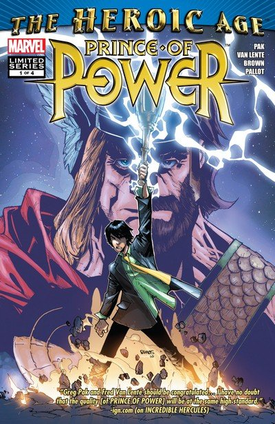 Heroic Age Prince of Power #1 – 4 (2010)