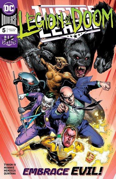 Justice League #5 (2018)