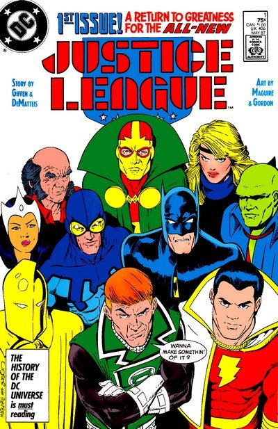 Justice League Vol. 1 #1 – 6 (1987)