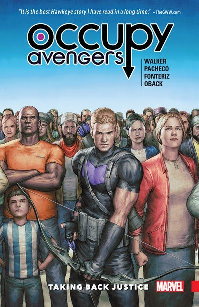 Occupy Avengers Vol. 1 – Taking Back Justice (2017)