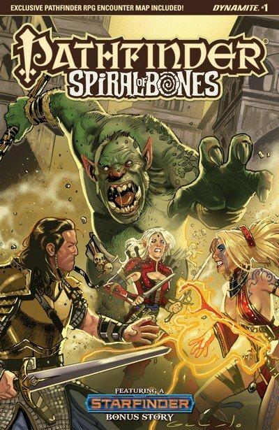 Pathfinder – Spiral of Bones #1 – 5 (2018)