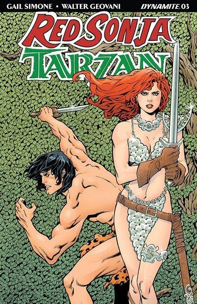 Red Sonja – Tarzan #3 (2018)