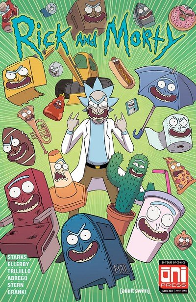 Rick And Morty #40 (2018)