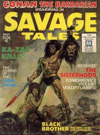 Savage Tales #1 – 12 (1971-1975)
