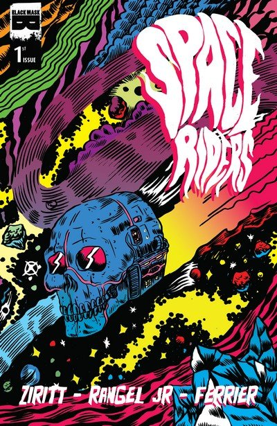 Space Riders #1 – 4 (2015)