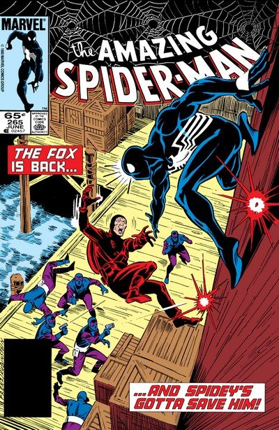 Spider-Man vs. Silver Sable (Story Arc) (1985-1987)
