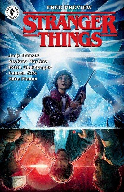 Stranger Things Ashcan (2018)