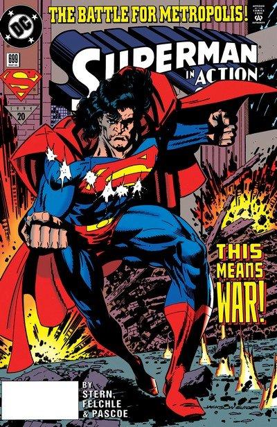 Superman – Fall of Metropolis (Story Arc) (1994)